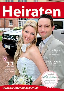 Broschüre »Heiraten in Sachsen«